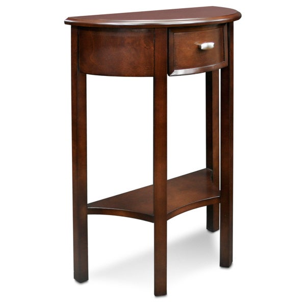 Shop Demilune Chocolate Cherry Hall Stand Free Shipping