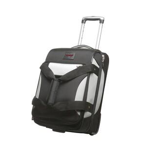 Denco Sports Cooperstown NBA Atlanta Hawks 22-inch Carry On Drop Bottom Upright Duffel Bag