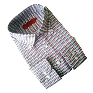 Elie Balleh Boy's 'Milano Italy' Multicolor Slim Fit Shirt (Option: 7)