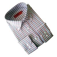 Elie Balleh Boy's 'Milano Italy' Multicolor Slim Fit Shirt