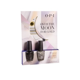OPI Over the Moon for Gold with Jewelry-Inspired Temp Tattoos Duo #2