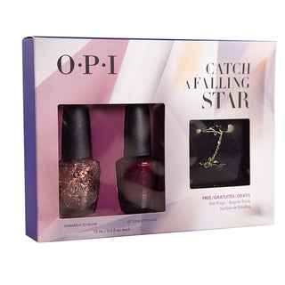 OPI 2-pack Catch a Falling Star with Star Rings