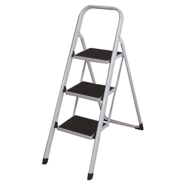 Shop 3 Step Folding Lightweight Step Ladder Stool Free