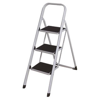3-step Folding Lightweight Step Ladder/ Stool