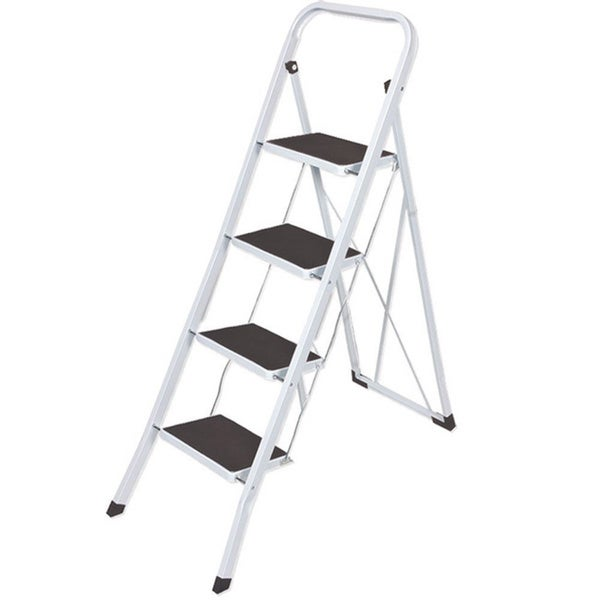 Shop 4 Step Folding Lightweight Step Ladder Free