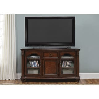 Tiffany Cherry Traditional TV Console