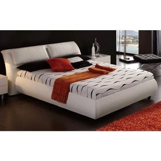 Luca Home White Platform Bed