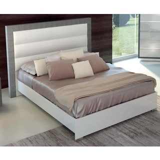 Luca Home Platform Bed White