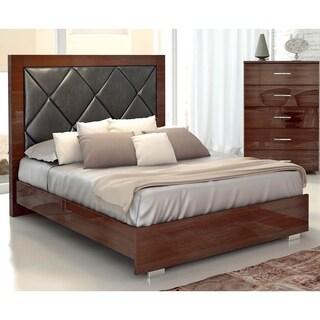 Luca Home Mahogany Bed