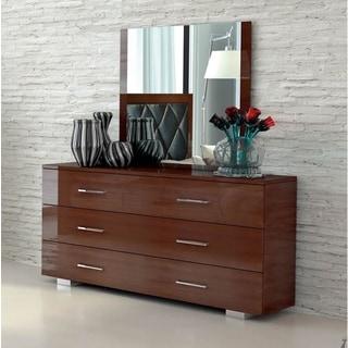 Luca Home Dresser/Mirror Mahogany