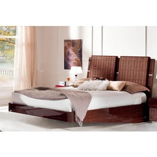 Luca Home Queen-size Platform Bed