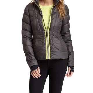 Halifax Traders Gray Down Puffer Packable Jacket