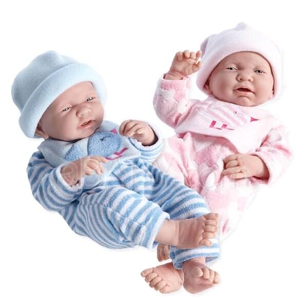 JC Toys Little Birdie Twin Dolls