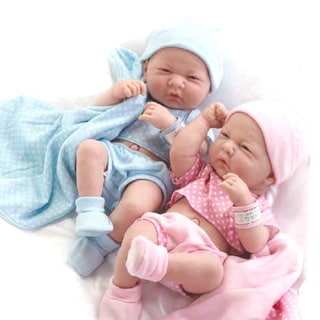 JC Toys Real Newborn Baby Boy and Girl