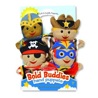 Melissa & Doug Bold Buddies Hand Puppets