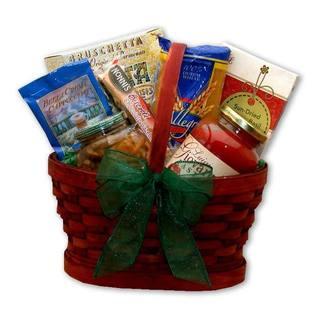 Italian Dinner for Two Gift Basket
