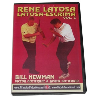 Rene Latosa Escrima Arnis Stick Cane Knife Sword Palm Stick Fight #2 DVD Newman