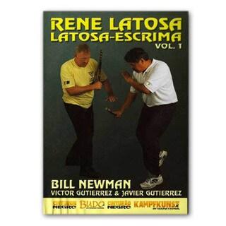 RS-0463 Rene Latosa Filipino Martial Arts Escrima Kali Stick Fight #1 DVD Newman