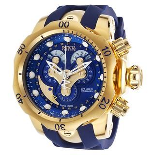 Invicta Men's 14465 Venom Quartz Chronograph Blue Dial Watch