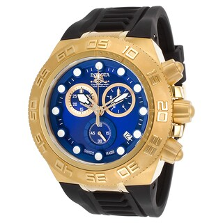 Invicta Men's 15580 Subaqua Quartz Chronograph Blue Dial Watch