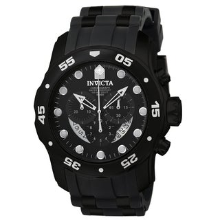 Invicta Men's 6986 Pro Diver Quartz Chronograph Black Dial Watch