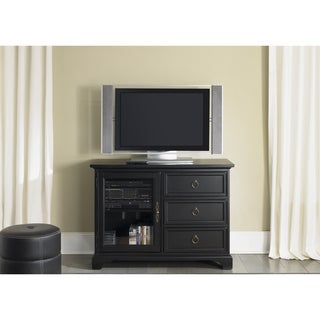 Beacon Transitional Black TV Console