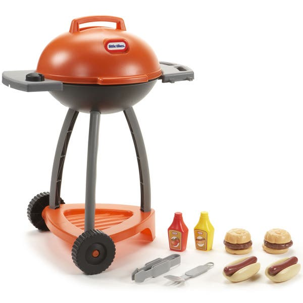 Shop Little Tikes Sizzle & Serve Grill - Orange - Free ...