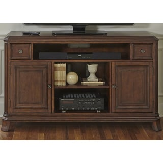 Brighton Dark Honey Transitional TV Console