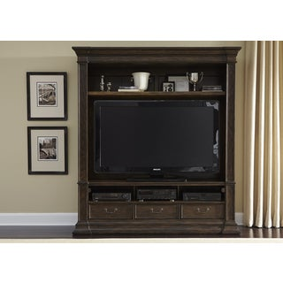 Mendenhall Rustic Brown 2 Piece Entertainment Center