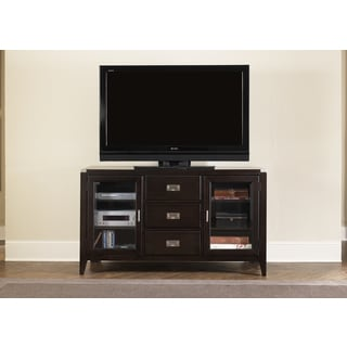 Harbor Town Transitional Mocha TV Console
