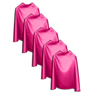 Superfly Kids Superhero Satin 22-inch Cape (Set of 5)