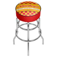 Stuckeys Padded Swivel Bar Stool