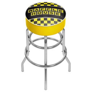 Waffle House Padded Swivel Bar Stool