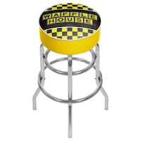 Waffle House Padded Swivel Bar Stool