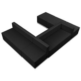 Hercules Alon Series Leather 6-piece Reception Configuration