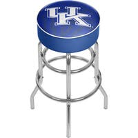 University of Kentucky Wildcats Chrome Bar Stool with Swivel