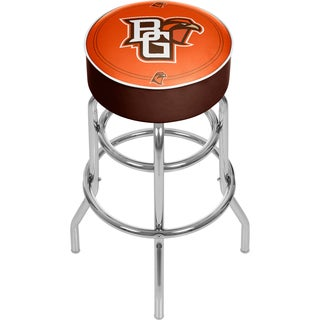 Bowling Green State University Padded Swivel Bar Stool