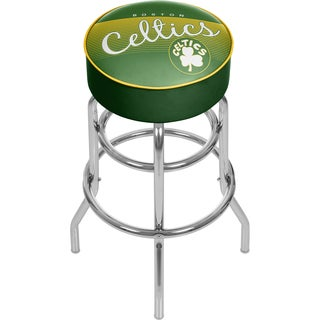 Boston Celtics NBA Hardwood Classics Padded Swivel Bar Stool