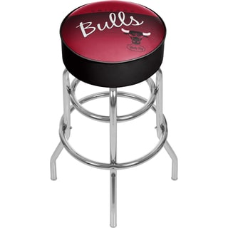 Chicago Bulls NBA Hardwood Classics Padded Swivel Bar Stool