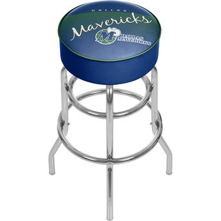 Dallas Mavericks NBA Hardwood Classics Padded Swivel Stool