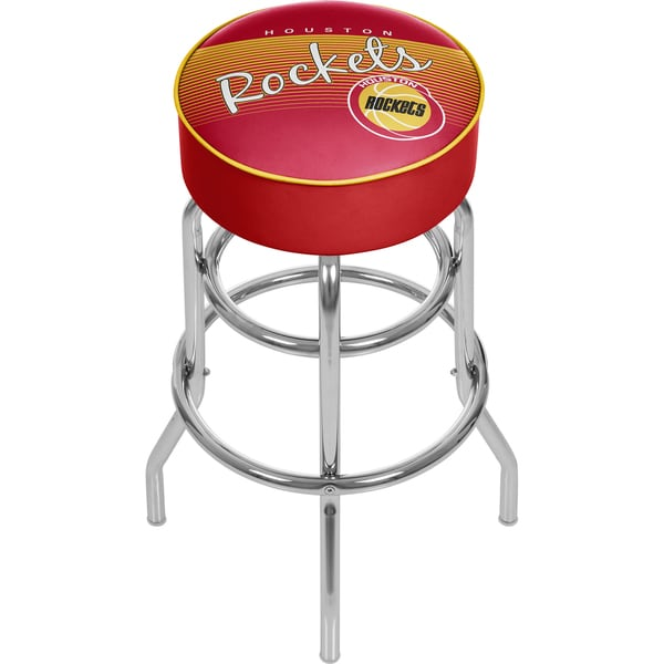 Houston Rockets NBA Hardwood Classics Bar Stool