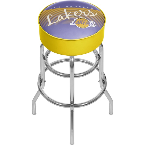 Los Angeles Lakers NBA Hardwood Classics Bar Stool