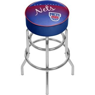 New Jersey Nets NBA Hardwood Classics Bar Stool