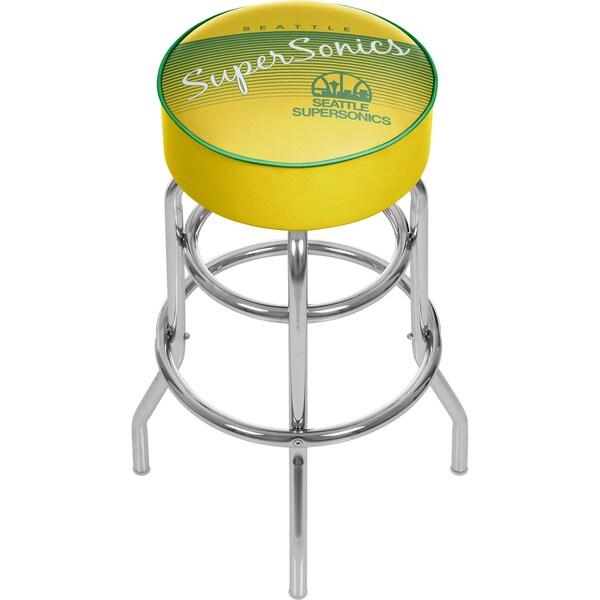 Seattle Super Sonics NBA Hardwood Classics Bar Stool