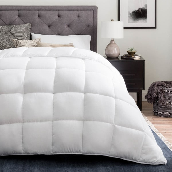 Brookside Down Alternative Reversible Quilted Comforter with Corner Duvet Tabs, Multiple Color Options