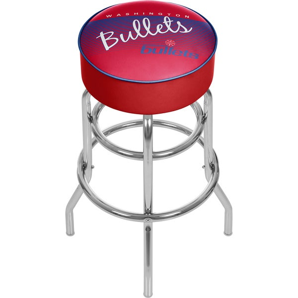 Washington Bullets NBA Hardwood Classics Bar Stool