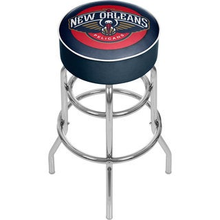 New Orleans Pelicans NBA Padded Swivel Bar Stool