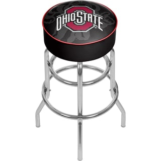 Ohio State Brutus Padded Bar Stool