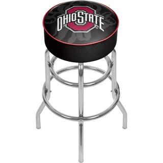 Ohio State Brutus Padded Bar Stool