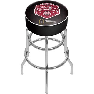 Ohio State National Champions Chrome Bar Stool with Swivel (2 options available)